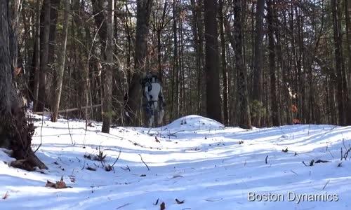روبوت ألي خطير  الرجل الألي المذهل من DARPA  القادر على المشي والنهوض بعد السقوط