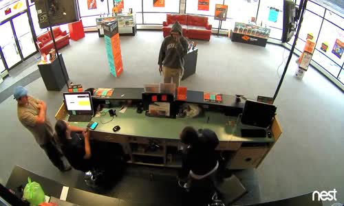 Robber Tells Customer To Keep His Money
