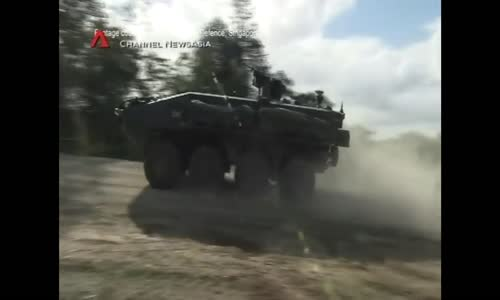 Making of Singaporean TERREX Armoured Personnel Carrier