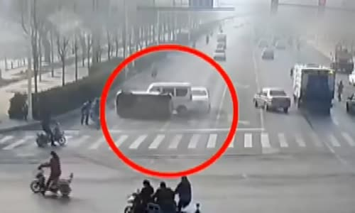 Unknown force lifts cars in China