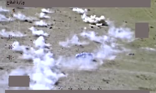 Death rains from above for ISIS terrorists