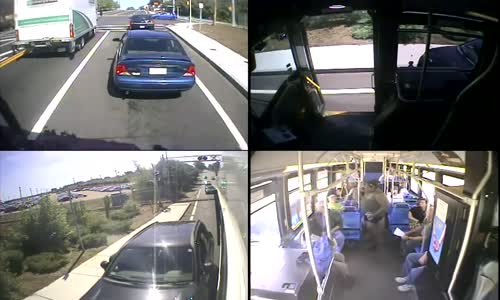 MBTA bus driver blocks in car to save driver having seizure