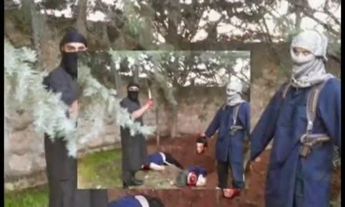فيديو جديد لـ داعش المقنع يعدم عسكريين على الهواء