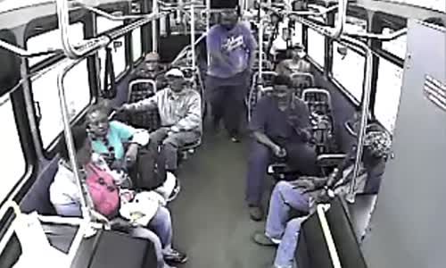 Old Man stabbed on Rapid bus