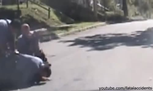 Cop Beating Handcuffed Suspect Caught on Camera