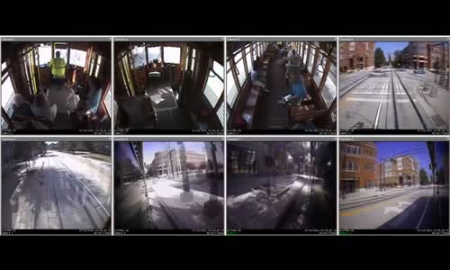 Onboard Streetcar Crash Video Released