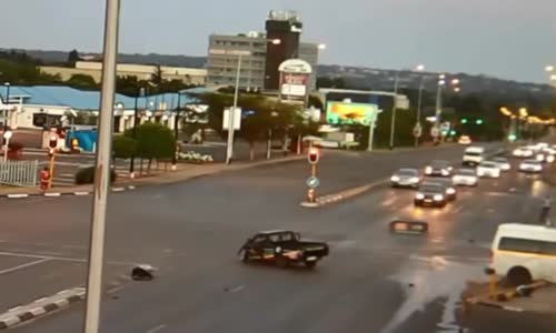 Man ejected after collision on intersection