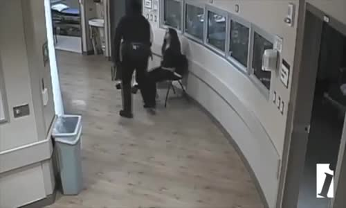 Cop Brutalizing Handcuffed Woman in Hospital and Knocking Her Teeth Out