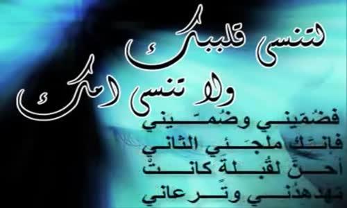 ( قصيدة نادرة ) أعود إليك يا أمي .. بصوت الشيخ نبيل العوضي