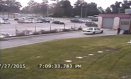 Florida Man Arrested For 'Joyride' Across Jail Lawn