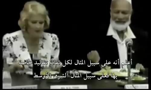 مسيحية تسأل لماذا لا تسافر المرأة المسلمة بدون محرم ؟ اجابة رائعة لأحمد ديدات sheikh ahmed deedat