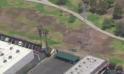 Girl Speeds Through South Los Angeles Park in Erratic Pursuit