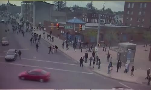 Newly Released Video Shows Eruption Of Baltimore Riot