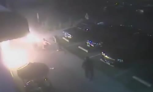 Firebomb Attack - Man Set On Fire But Survives