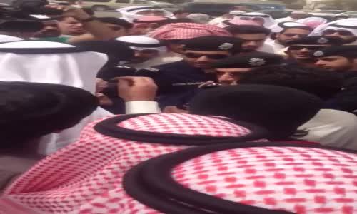تفاوض اللواء الطراح مع البدون قبل التظاهر 23 مارس 2012