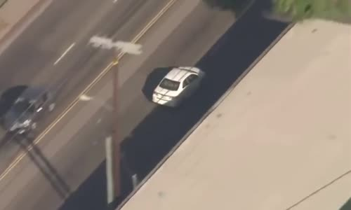 Another Crazy High Speed Chase In California