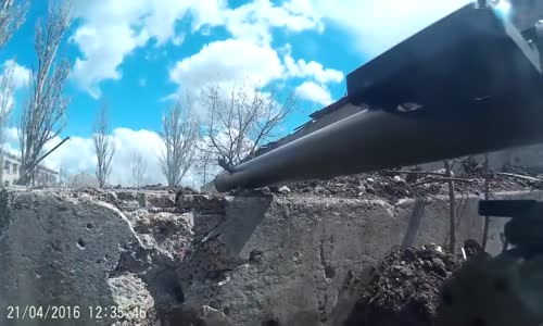 Ukrainian Army footage from the Prom zone