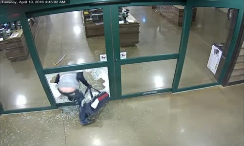 $10K in guns stolen from sporting goods store