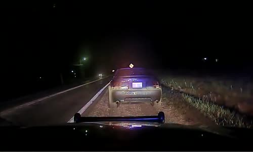 Cop Making Drunk Driving Arrest Sideswiped By Second Drunk Driver