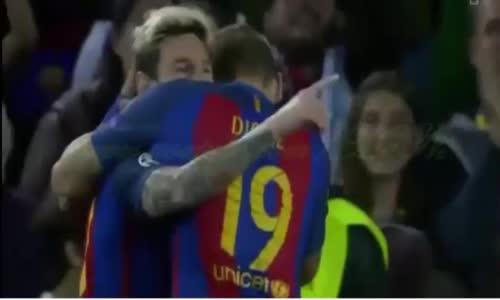 ملخص مباراة برشلونة ومانشستر سيتي  19-10-2016
