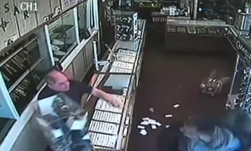 Jewelry Store Owner Fights Back Against Robber