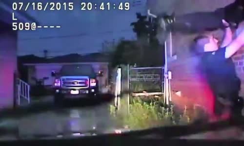 Dashcam Shows Cops Rescue Man From Burning Home