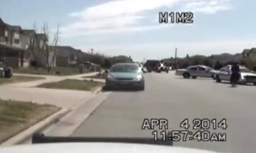 Killeen Police Dashcam Video Shows Officer Shooting Suspect
