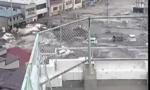 Japan Tsunami Caught On CCTV