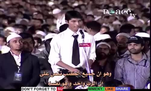 تحية الاسلام بالعربية وعلاقتها باللغة الهندية ؟ يجيب د. داكر نايك