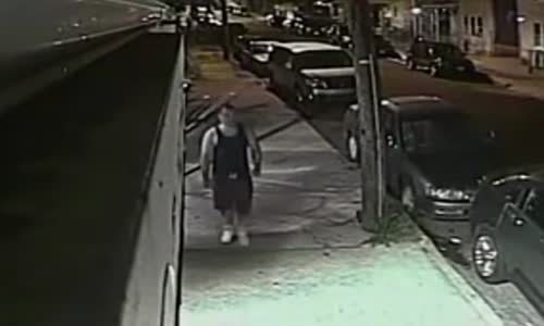 CCTV Captures Thug Beat & Rob Woman in Patterson NJ