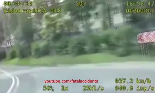 Unusual Police Chase in Poland