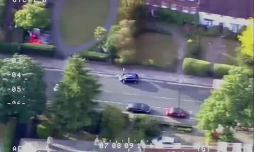 Violent jewellery robber is jailed after car chase