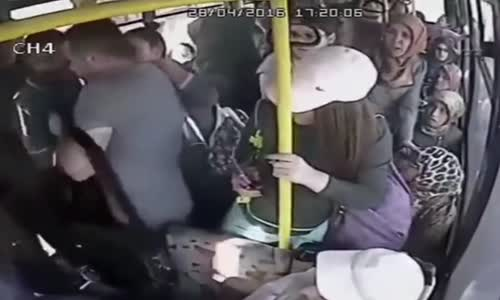 He picked the wrong bus
