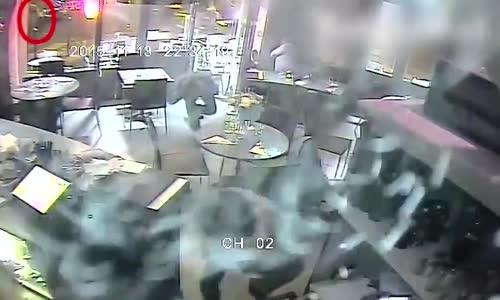 Terrifying ISIS Paris attack CCTV video