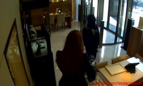 Failed armed robbery at Rolex shop