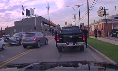 Marriage Proposal Caught on Police Dashcam