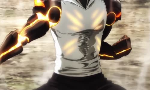 One Punch Man (Saitama vs Genos HD) Part(13)