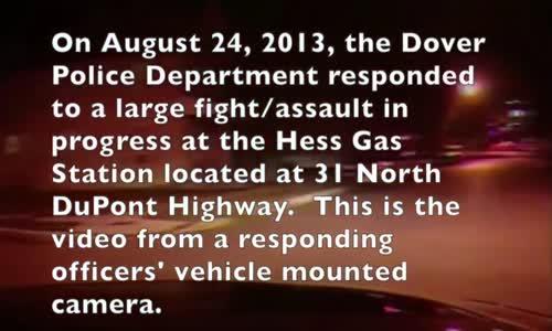White Delaware Cop Kicks Black Suspect in Face