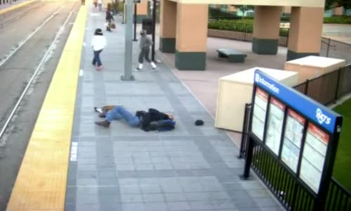 White Navy Veteran Beaten by Black Youth at Trolley Station