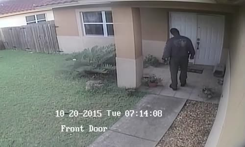 Florida Cop Murders Pet Dog 3 Feet From Homeowners