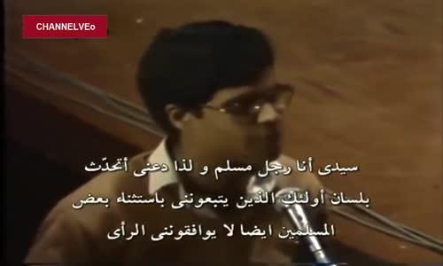 تهمة خطيرة يتلقاها أحمد ديدات من رجل مسلم  عن سخريته من سيدنا عيسى  فكان الرد قويا