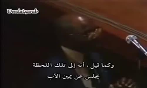مبشر نصراني يحاول التظاهر بانه شخص عادي ولكن الشيخ احمد ديدات كشفه وافحمه امام الجميع