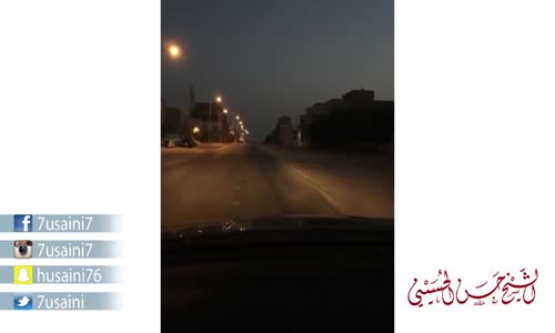 شاهد ماذا حدث في شوارع البحرين 7 صباحًا  سناب شات الحسيني