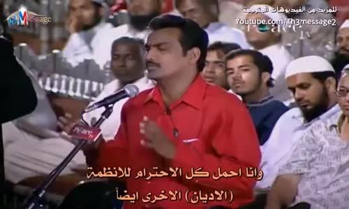 يسأل 100 سؤال في نفس الوقت وتعليق الشيخ ذاكر نايك الجميل عليه