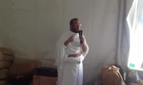 عبدالعزيز العويد يدعو للكويت في عرفة