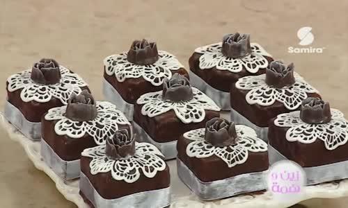 مخبز جوز الهند مطلي بالشوكولا الشيف سليمة يعلي حصة زين و همة  