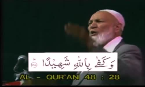 Part2 DAWAH IN THE U.S.A ATLANTA 1986SHEKH AHMED DEEDAT