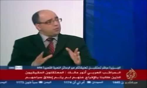 أنور مالك يكشف أكاذيب النظام السوري مع المراقبين العرب