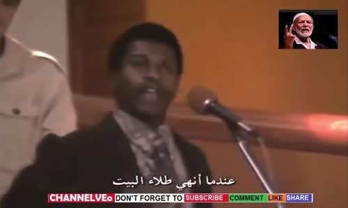 أحمد ديدات يرد على مسيحي أنت لا تعرف العبرية أحضر قسيسك معك