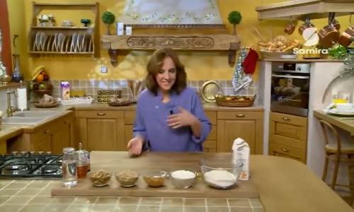 خبز الجوز   صابلي بالبندق حصة لمسة حورية الشيف حورية زنون  